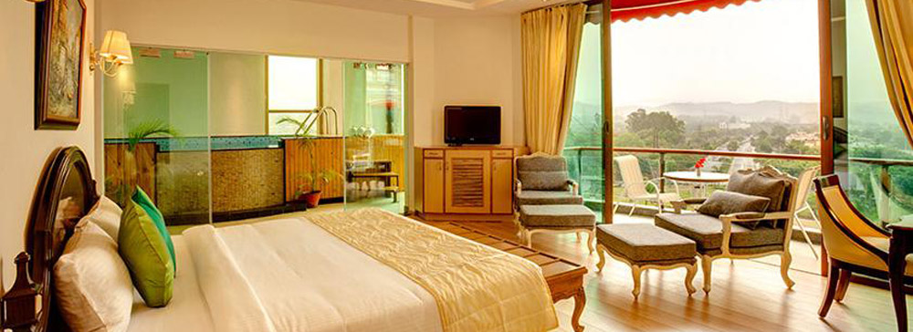 Deluxe Rooms In Chandigarh At The Bella Vista